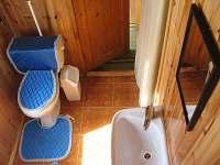 wc - chata ubytování Komušín u Horažďovic