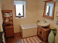 koupelna - chalupa ubytování Kamýk u Švihova
