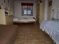 ložnice - chalupa k pronájmu Kamýk u Švihova