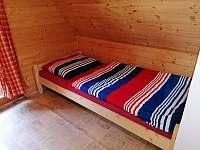 Ložnice 1 - pronájem chatek Butov