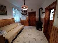Apartmán A - předpokoj - pronájem chalupy Hleďsebe - Bystřice