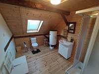 Apartmán B - koupelna - chalupa k pronájmu Hleďsebe - Bystřice