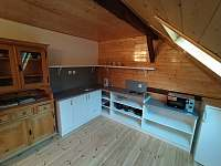 Apartmán B - kuchyně - Hleďsebe - Bystřice