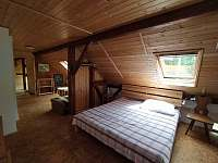 Apartmán B - ložnice (4 lůžka) - pronájem chalupy Hleďsebe - Bystřice