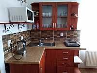 Kuchyňka - chalupa ubytování Bečov nad Teplou