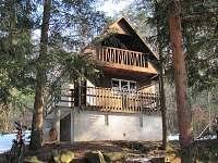 ubytování v Českém lese Chata k pronajmutí - chatová osada Valečkův mlýn