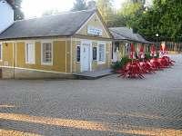 Jedna z restaurací na zámku Kozel :)