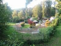Minigolf na zámku Kozlu :)