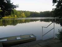 Rybník na zámku Kozel :)