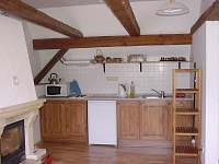 kuchyňský kout v podkroví