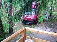 Klasická dřevěná chata u Hracholusek - chata k pronájmu - 15 Erpužice - Malovice