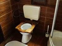 wc - pronájem chalupy Meclov