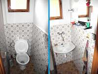 WC + koupelna s vanou