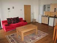 obývací pokoj apartmánu 2+kk - k pronajmutí Loučná pod Klínovcem