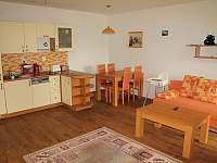 obývací pokoj apartmánu 2+kk - pronájem Loučná pod Klínovcem