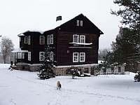 I v zimě je u nás krásně... - chata k pronájmu Bečov nad Teplou