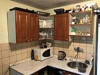 Kuchyňka - pronájem chalupy Soběšice u Sušice