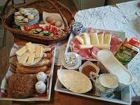 Apartmán U Trnků snídaně