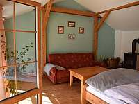 Ložnice Apartmán 3 - ubytování Krásno