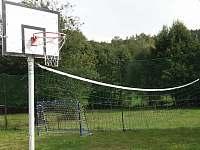 Travnaté hřiště se sportovním využitím
