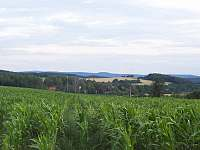 pohled na  obec Týček