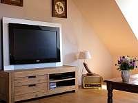 Velká TV Philips a satelitní programy - chalupa k pronajmutí Smederov