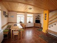 Dům č. 1 - obývací část