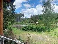 Srub u rybníka - srub k pronájmu - 3 Velká Hleďsebe
