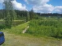 Srub u rybníka - srub k pronajmutí - 4 Velká Hleďsebe