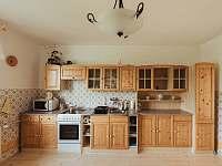 kuchyň - pronájem apartmánu Kašperské Hory