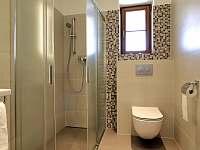 koupelna apartmán č. 2 - k pronajmutí Milhostov u Mariánských Lázní