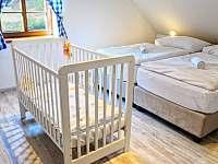 ložnice apartmán č. 1 - Milhostov u Mariánských Lázní