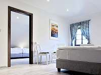 ložnice apartmán č. 2 - ubytování Milhostov u Mariánských Lázní
