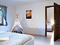 ložnice apartmán č. 2 - k pronájmu Milhostov u Mariánských Lázní