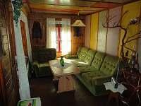 Obývací pokoj 1 - pronájem chaty Plasy