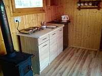 Maringotka na samotě u lesa - chata ubytování Sezemín - 5