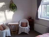 Dvoulůžkový pokoj s vlastní koupelnou v přízemí - Krsy