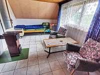 Čtyřlůžkový pokoj v patře s balkonem - Hracholusky
