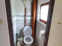 Záchod - chata k pronajmutí Hracholusky