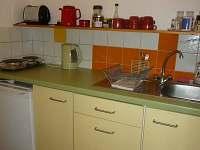 Kuchyňka - apartmán k pronajmutí Bečov nad Teplou