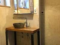 koupelna - chalupa k pronajmutí Ptenín - Újezdec