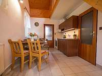 Apartmán 4 - kuchyňský kout - ubytování Přetín