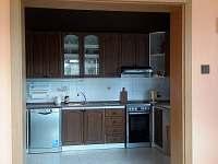 kuchyně - rekreační dům ubytování Dolní Žandov