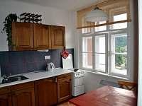 Kuchyňský kout (malý apartmán) - ubytování Bečov nad Teplou