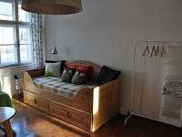 Obývací pokoj (velký apartmán) - ubytování Bečov nad Teplou